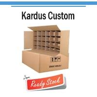 Jual Kardus Custom & Jasa Pembuatan Kardus Custom